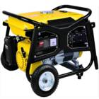 גנרטור עוצמתי 5500W עם מנוע בנזין 4 פעימות סטרטר ומצבר להנעה קלה ונוחה HYUNDAI דגם HD5800