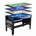 שולחן משחק משולב שולחן משולב כדורגל ביליארד טניס הוקי